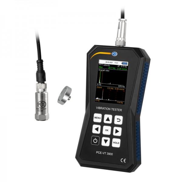 PCE-VT 3900 профессиональный виброметр и тахометр с памятью