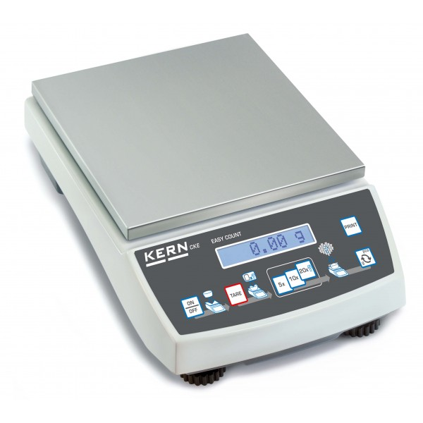 KERN CKE 2000-2 интуитивно понятные счётные весы до 360 000 ед. с лабораторной точностью