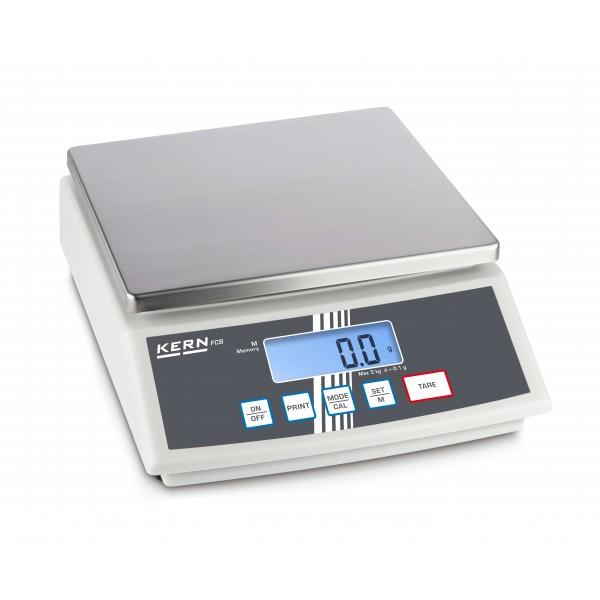KERN FCB 12K1 весы со вторым дисплеем на обратной стороне