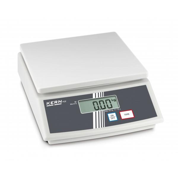 KERN FCE 15K5N настольные весы начального уровня
