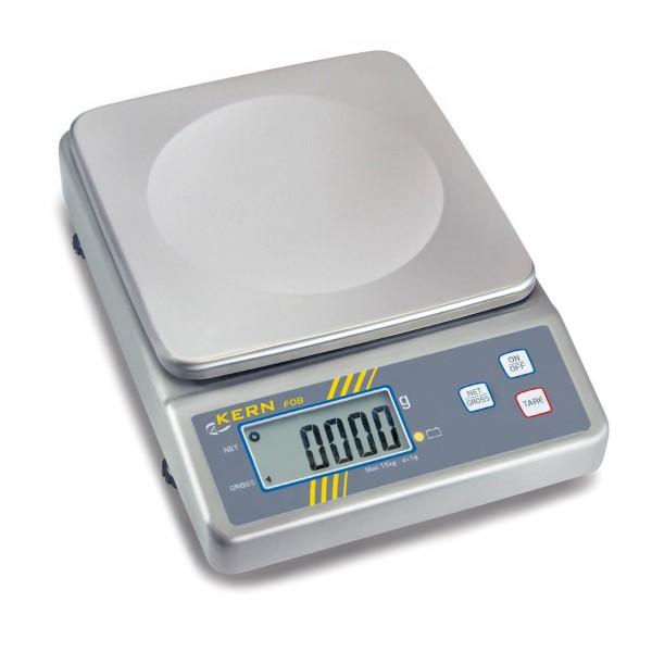 KERN FOB 6K2 весы из нержавеющей стали для пищевой промышленности