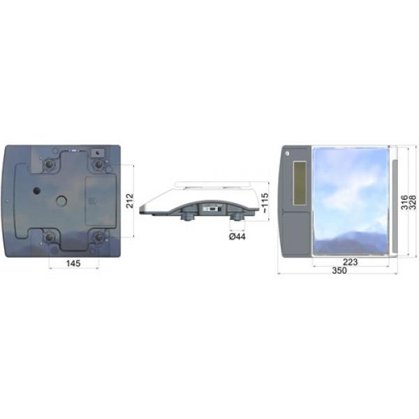 PCE-TB 6 лабораторные весы с интерфейсом RS-232 и USB