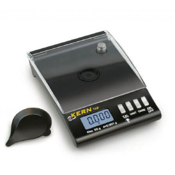 KERN TAB 20-3 высокоточные карманные весы