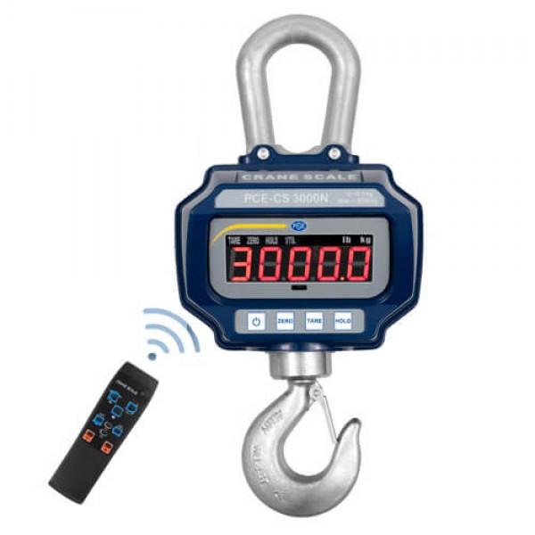 PCE-CS 3000N крановые весы до 3 000 кг с ПДУ