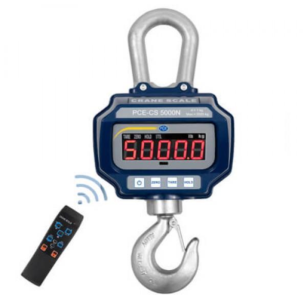 PCE-CS 5000N крановые весы до 5 000 кг с ПДУ