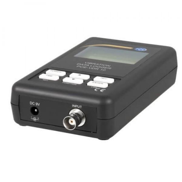 PCE-VDR 10 виброметр с функцией регистрации и аналоговым выходом 4...20 мА