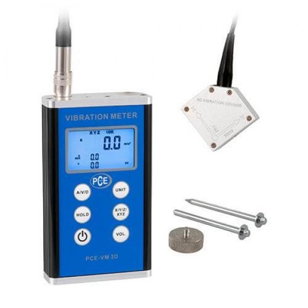 PCE-VM 3D трехосный виброметр
