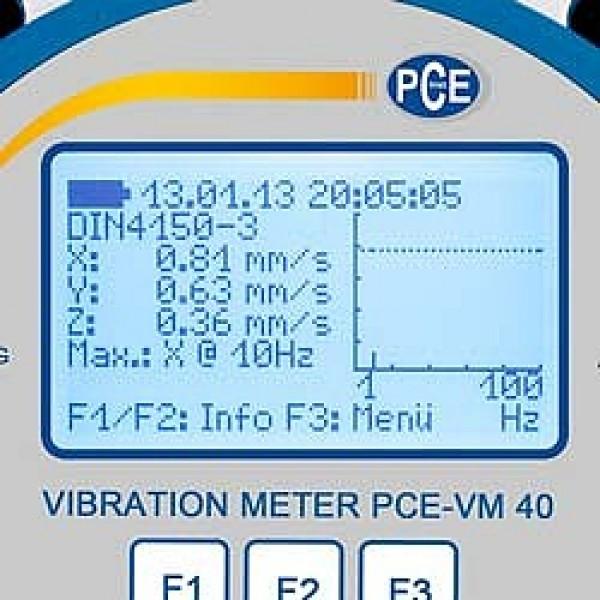 PCE-VM 40A строительный виброметр