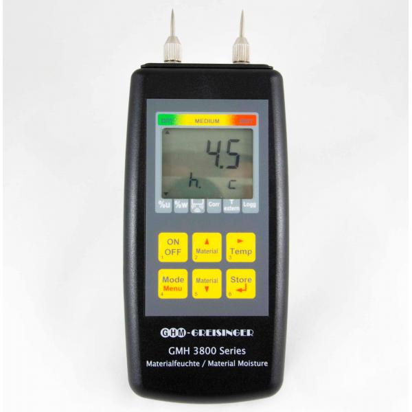 Greisinger GMH 3810 профессиональный влагомер древесины и стройматериалов