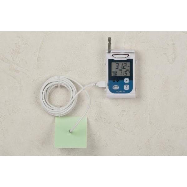 GANN Klima 30 точный регистратор температуры и влажности с подключением выносных датчиков