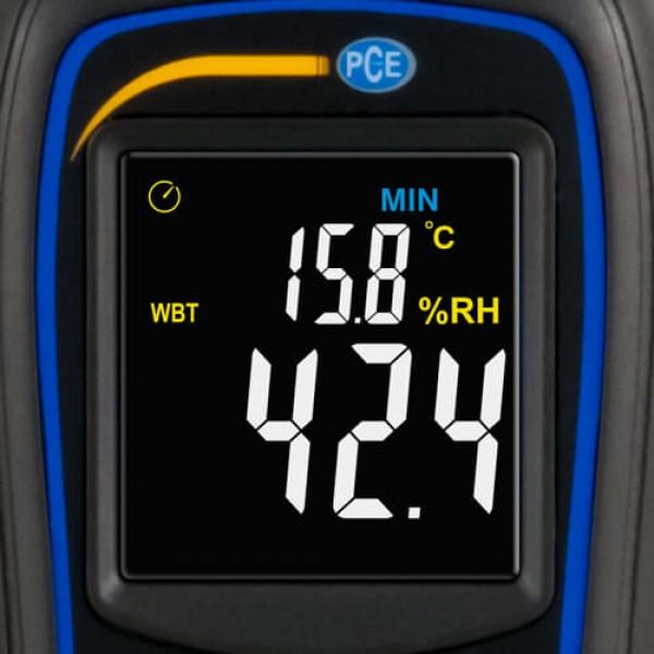 PCE-444 портативный термогигрометр