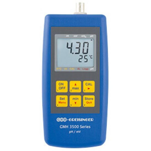Greisinger GMH 3531 профессиональный pH-метр, ОВП метр и термометр