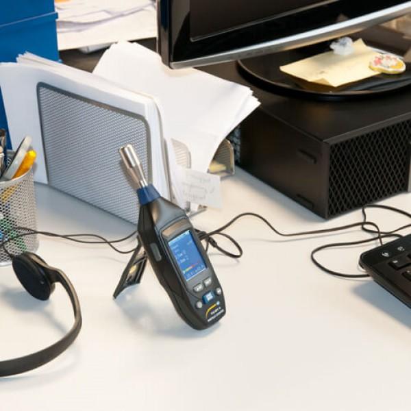 PCE-MPC 10 мобильный счетчик частиц/термогигрометр