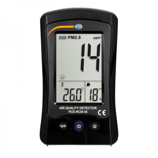 PCE-RCM 05 бытовой счетчик частиц/термогигрометр