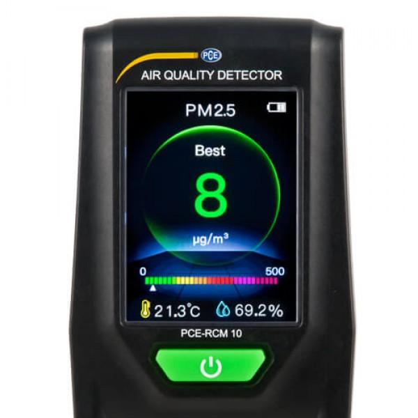 PCE-RCM 10 бытовой счетчик частиц/термогигрометр