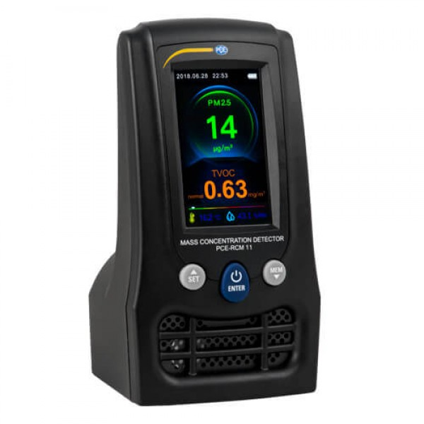 PCE-RCM 11 анализатор формальдегида и качества воздуха