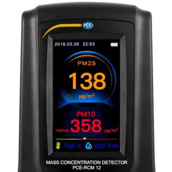 PCE-RCM 12 анализатор формальдегида и углекислого газа