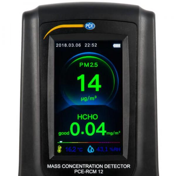 PCE-RCM 12 анализатор формальдегида, углекислого газа и качества воздуха