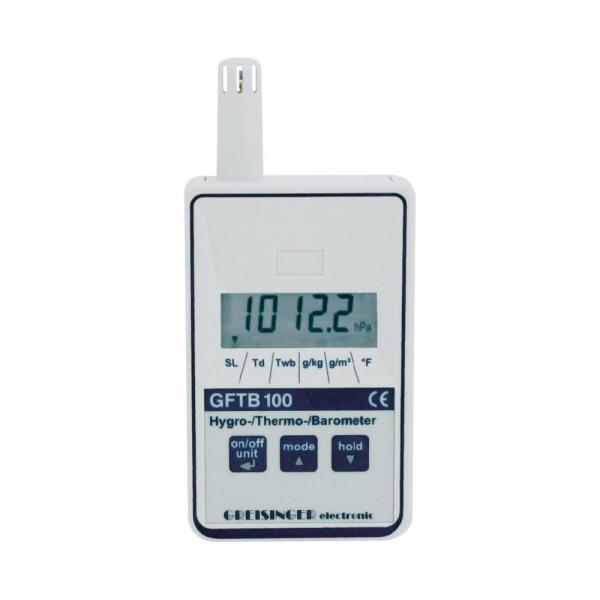 Greisinger GFTB 200 термогигрометр барометр