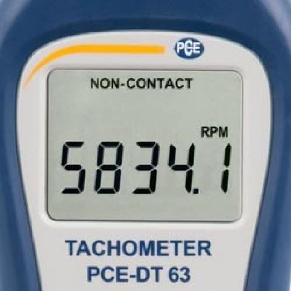 PCE-DT63 бесконтактный тахометр