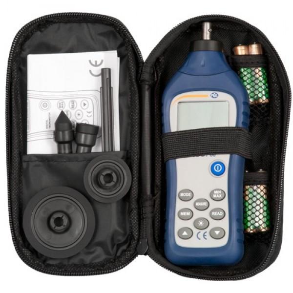 PCE-DT66 контактный тахометр