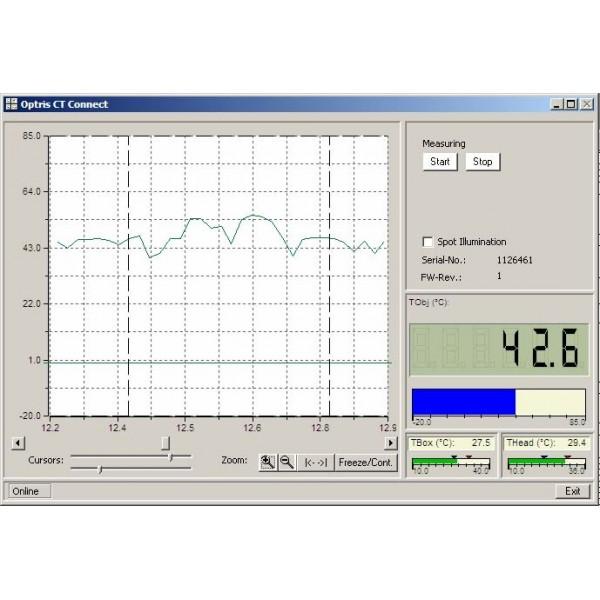 PCE-IR 10 пирометр стационарный