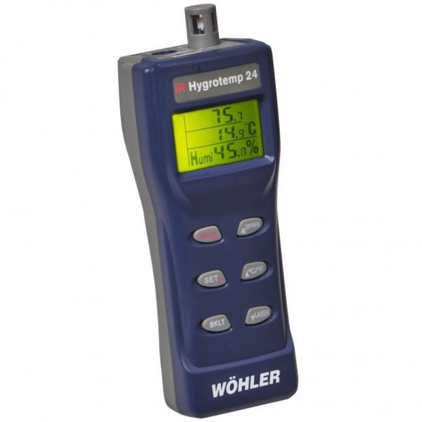 Wöhler IR Hygrotemp 24 профессиональный термогигрометр со встроенным пирометром