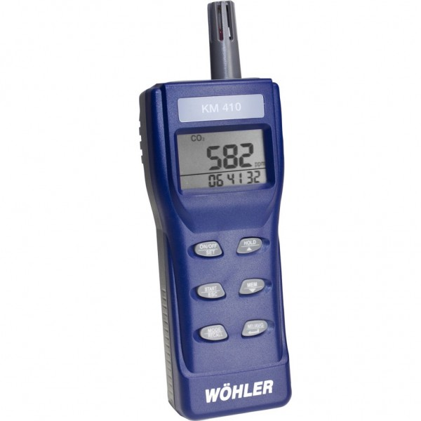 Wöhler KM 410 мультифункциональный газоанализатор