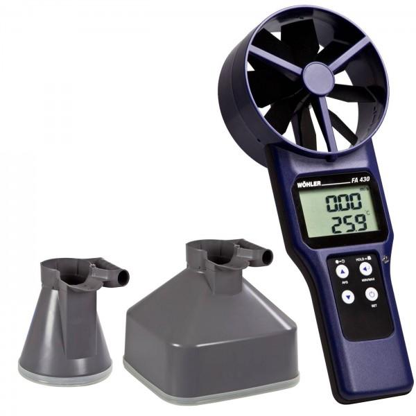 Wöhler FA410 анемометр/термометр