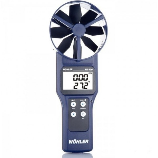 Wöhler FA430 анемометр/газоанализатор