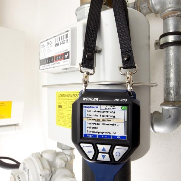 Wöhler DС 430 профессиональный течеискатель в газовых системах