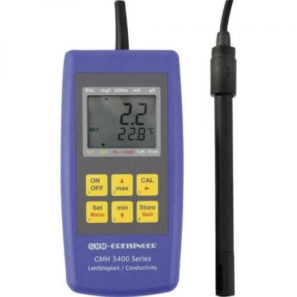 Greisinger GMH 3451 профессиональный кондуктометр с функцией логгера