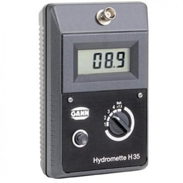 GANN HT65 влагомер древесины, щепы/опилок/стружки с температурной компенсацией